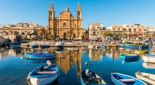 Promoção Ryanair destino Malta
